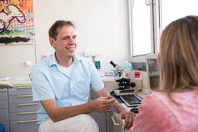 Dr-Weick-Frauenarzt-Gespräch